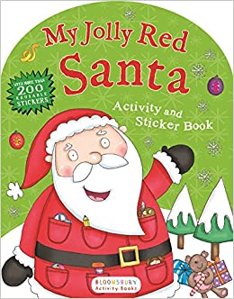 My Jolly Red Santa Activity and Sticker Book