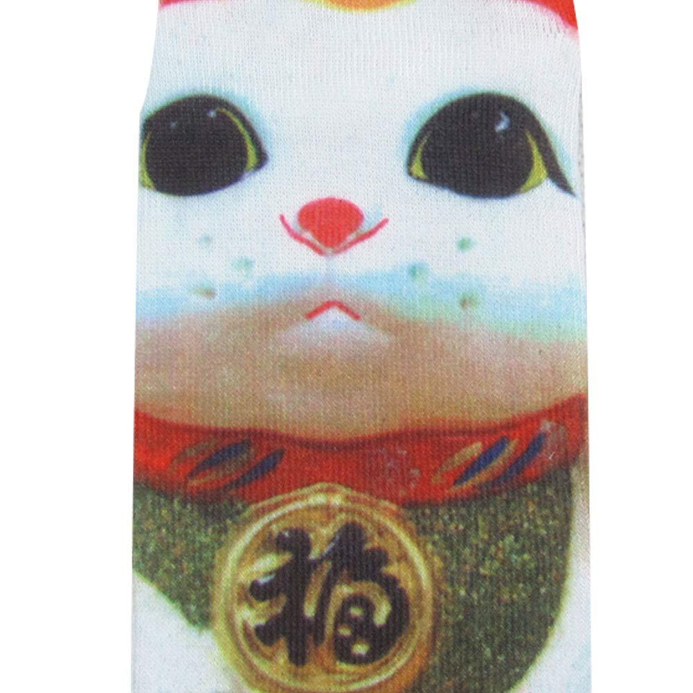 Angoter Emoji Socken Emoticons Smileys Smiling Face Socken Cotton Midi-Str/ümpfe