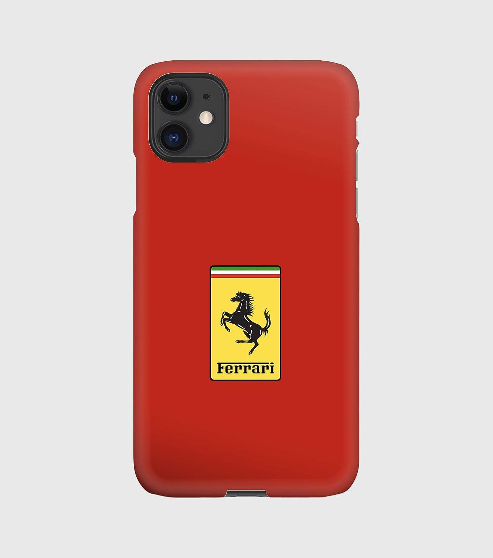 12 mini 12 pro max 11 11 pro 12 pro 8 XS 7+ 5 X max,XR 6 X 6+ 11 pro max 7 rouge Ferrari Handyh/ülle f/ür iPhone 12