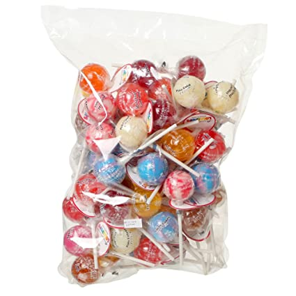 Amazon オリジナルグルメ ロリポップ キャンディー 60本入り 19