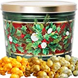 Christmas Bouquet Popcorn Gift Tin Small