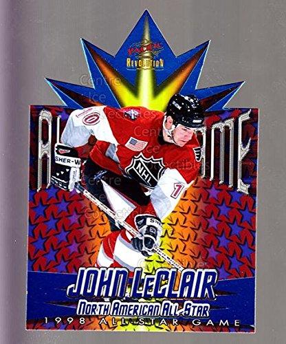 1997 Nhl All Star Game ((CI) John LeClair Hockey Card 1997-98 Revolution 1998 AS Game Die-Cuts 15 John LeClair)