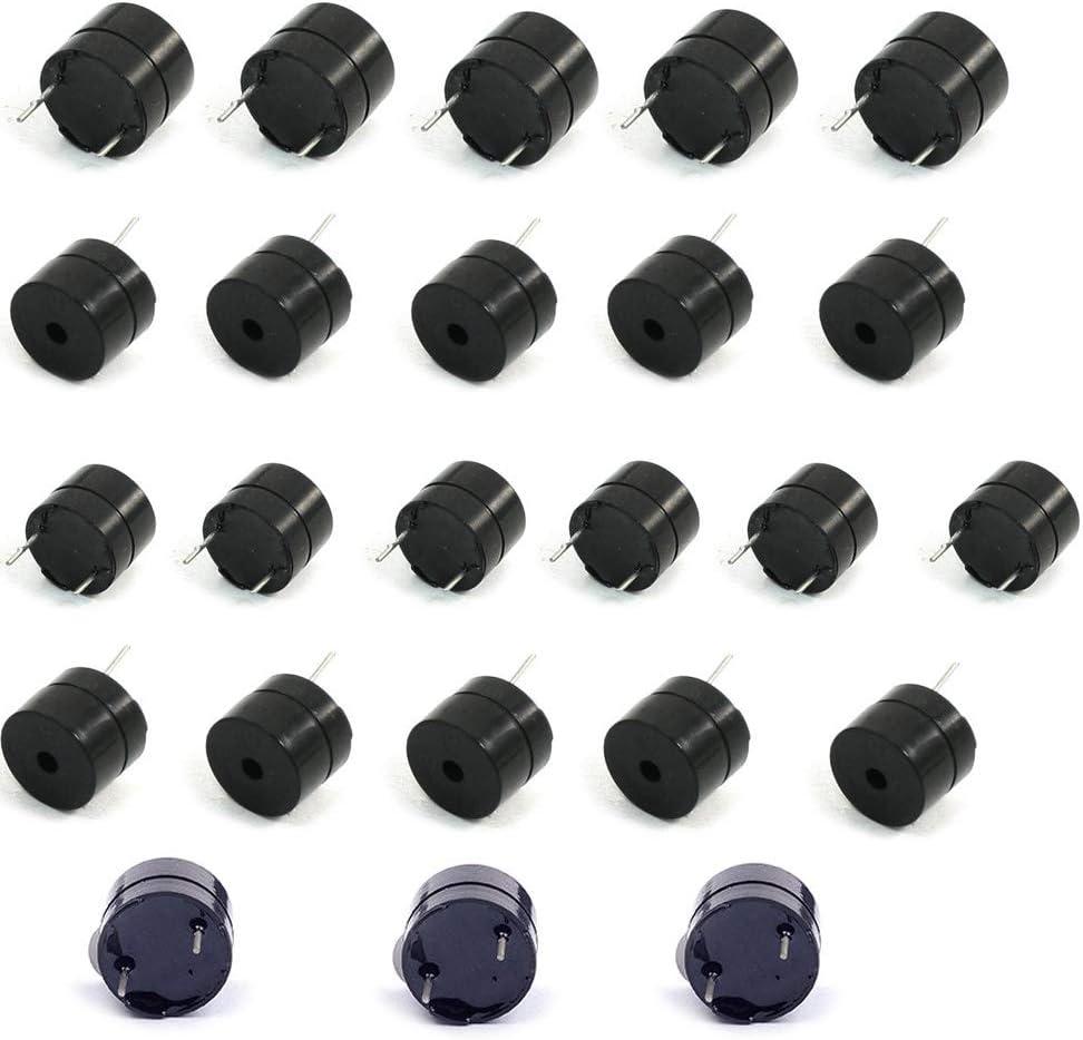 10pcs Active Electromagnetic Buzzer Integrated Continuous Sound DC 12V 12x9.5mm