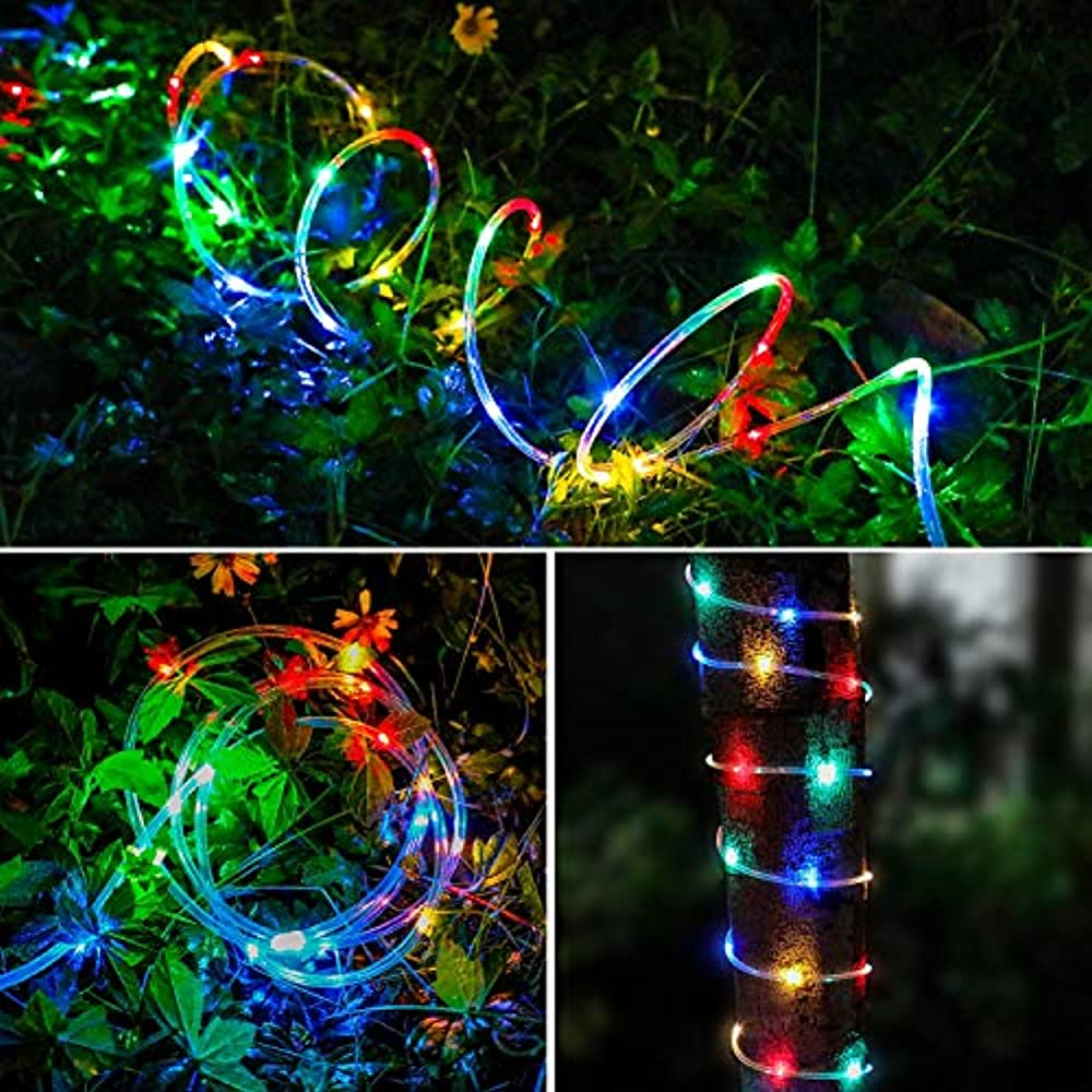 150 RGB Multi-color LED Rope Light - Home Outdoor