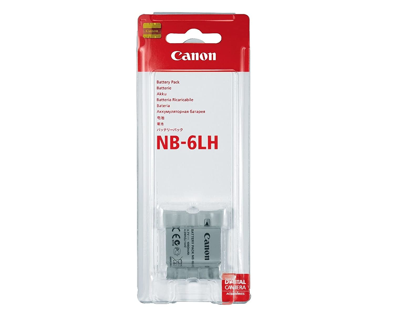 Amazoncom Canon Battery Pack NB6LH Digital Camera Batteries