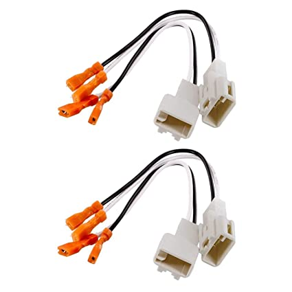 (2) pair of metra 72 8104 speaker wire adapters for select toyota vehicles 4 total adapters 2005 Silverado Radio Wiring Harness