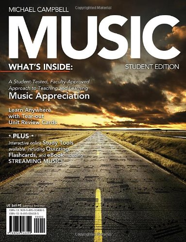 Music (with CourseMate Printed Access Card)