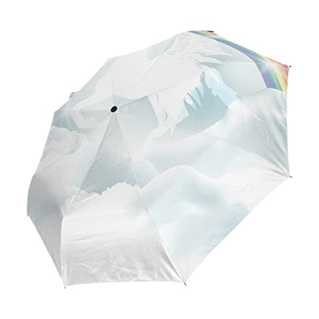1194adc77a3c Amazon.com : imobaby Unicorn-In-Clouds Indestructible Windproof ...