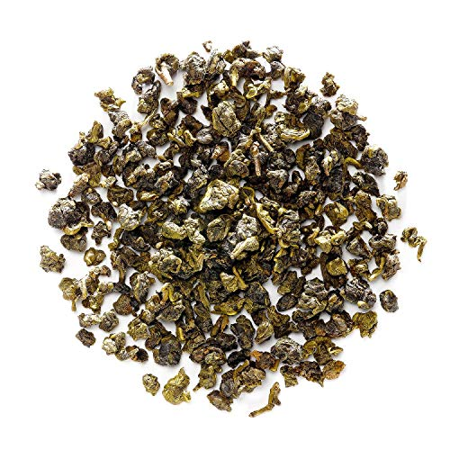 (Tie Guan Yin Oolong Tea - Taiwanese High Mountain Green Oolong - Loose Leaf - Tieguanyin Wu Long Tea From Taiwan 100g 3.5 Ounce)