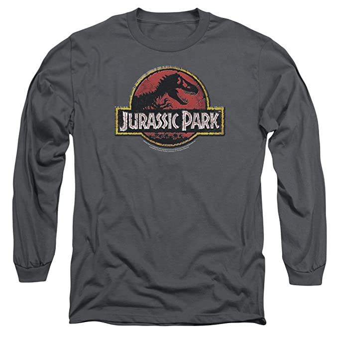 Jurassic Park - Camiseta - Manga Larga - Hombre: Amazon.es: Ropa y accesorios