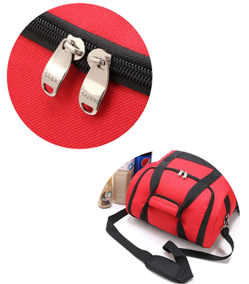 zhbotaolang Mochila Bolsas de Gran para Picnic - Gran de Capacidad con Aislamiento Térmico Bolsa de Almuerzo Al Aire Libre (Rojo) a4b5fa