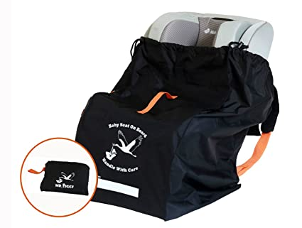 Amazon.com: Mr. Ziggy Car Seat Check Bag by Infant Car Seat Travel ...