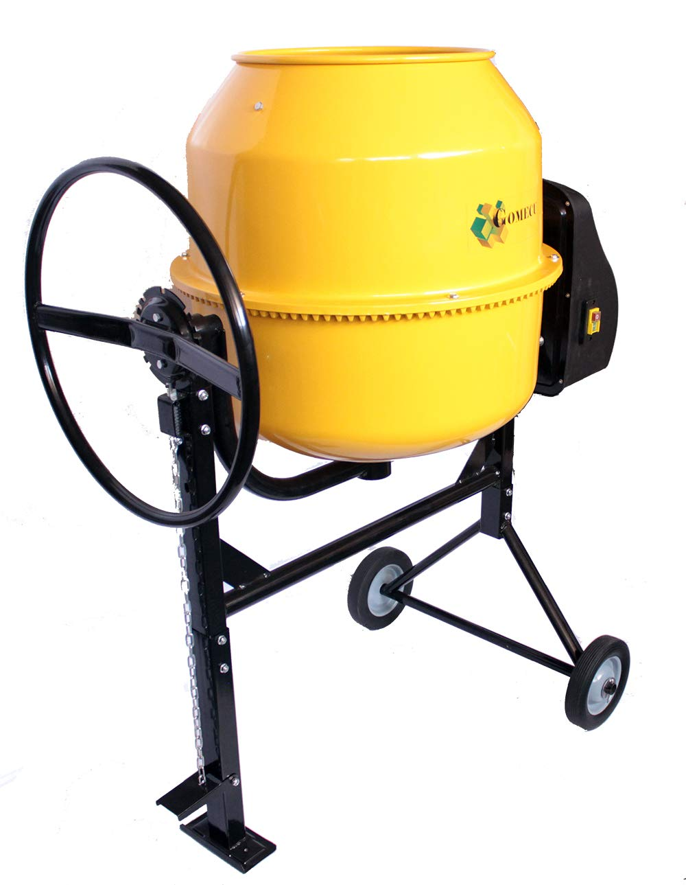 Hormigonera Electrica 185 Litros CM185 800W Pedal de Fijaci/ón con Pi/ñon Hierro