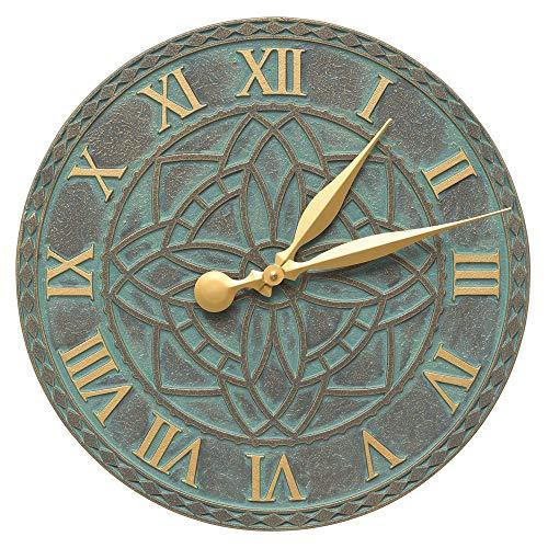 (SKB family Artisan Outdoor Wall Clock, 16