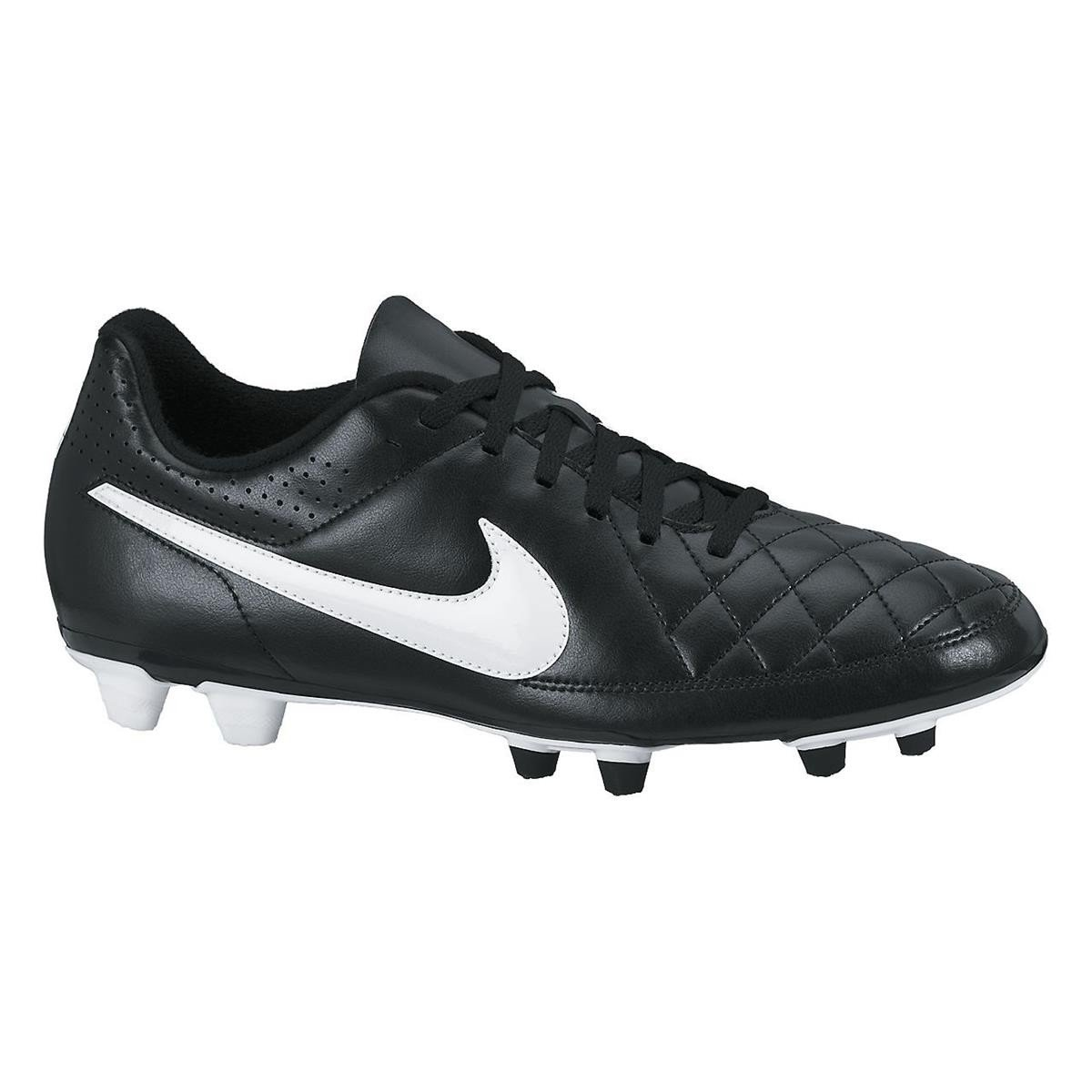 a68ea7df2cf Nike Tiempo Rio Ii Fg Men s Football Boots Black Size  15 UK  Amazon.co.uk   Shoes   Bags