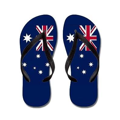 7f2356a3f Liuzhis Australian Flag - Flip Flops