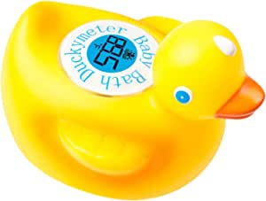 Ozeri Duckymeter The Baby Bath Floating Toy and Bath Tub Thermometer