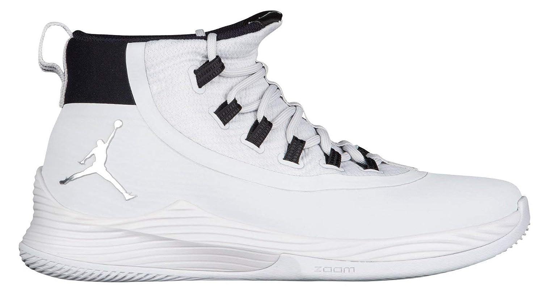 reputable site 0fbed 99f0e Nike Mens Jordan Ultra Fly 2 TB, Pure Platinum/Metallic Silver-Black, 12