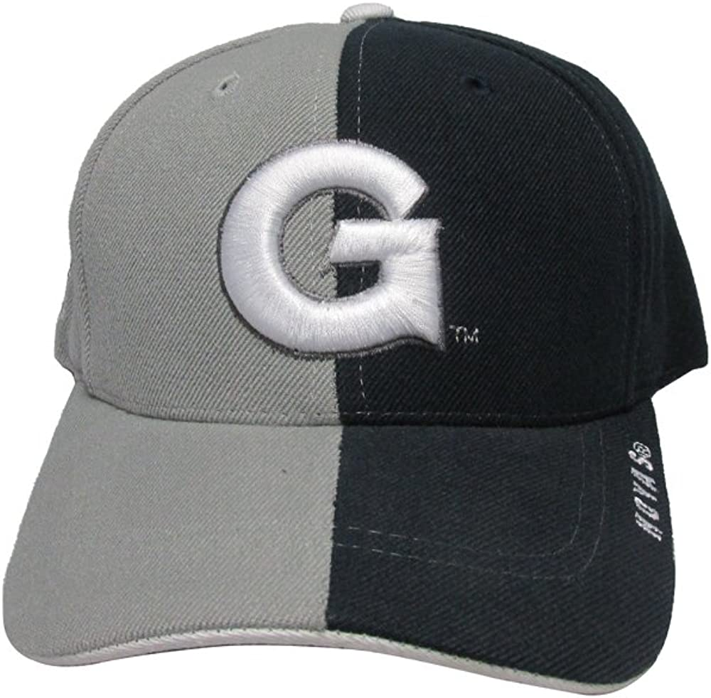 RobsTees Georgetown University Hoyas Two Face Retro College Team Red Strap Back Hat Cap