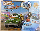 DISNEY - 3 Real Wood Puzzles: Cars, Cars 2 and Toy Story