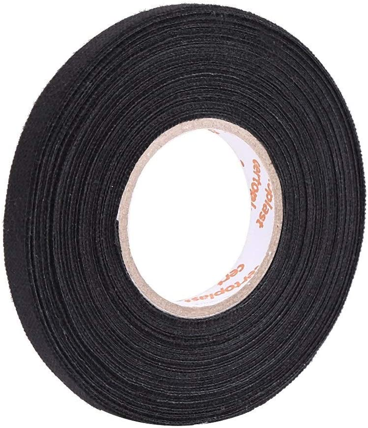 Car Self Adhesive Anti Squeak Rattle Felt Automotive Wiring Harness Tape Car Accessories 19mm*15m Car Multipurpose Tape