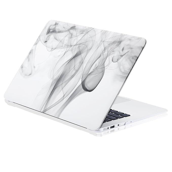 Carcasa MacBook Air 13 Rígida de KAOPU Llamativa Funda Dura Protectora con Baño de Caucho Mate Helado Compatible con Modelos A1369 / A1466