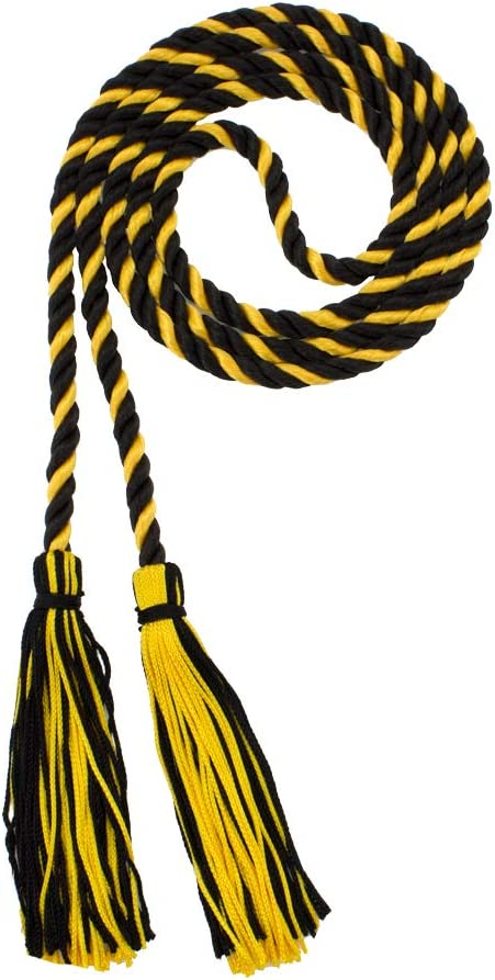 Tassel Depot HONOR CORD BLACK//RED BRAND MADE IN USA