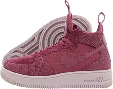 Nike Air Force 1 Utrafrce Mid Fif - Zapatillas para mujer (talla 38), color  vino