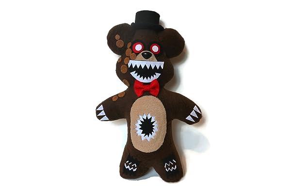 Fnaf ~Handmade Plush~Twisted Freddy/Five Nights at Freddys 11