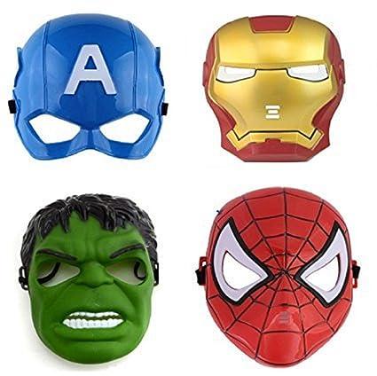 Buy FAVELA Super Hero Cartoon Plastic Mask