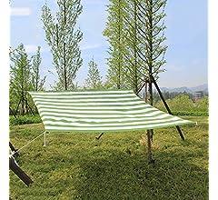 Travel Sun Mesh Shade Panel, Sombra De Tela UV Protector Solar con Ojales, Script De Borde Encriptado, Verano para Patio/Pérgola/Canopy Balcony Sun Network,Green+White,6.6x10: Amazon.es: Deportes y aire libre