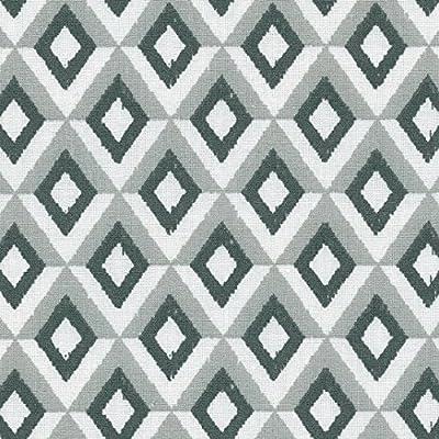 Tela KAPPA (gris antracita, gris claro & blanco) - 100% algodón ...