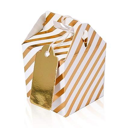 132101 - Pack de 24 mini cajitas de regalo cumpleaños con ...