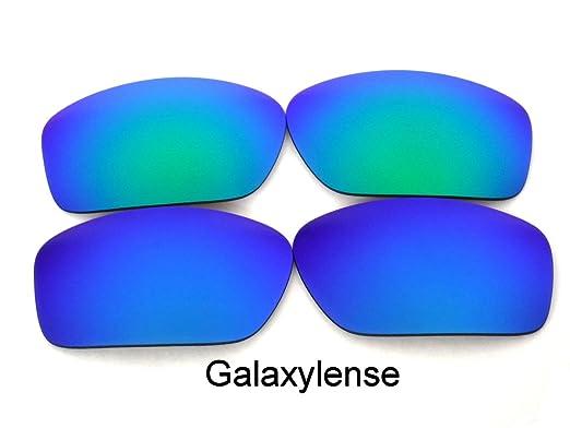 3db3cf8d7a Amazon.com  Galaxy Anti-Sea Corrosion Replacement Lenses For Costa Del Mar  Caballito Blue Green Polarized  Clothing