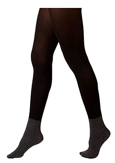 fac07715dc1 Hanes Women s X-Temp Blackout Boot Liner Tights Black Med  Amazon.co.uk   Clothing