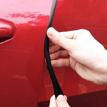 """Car Door Edge Protector Strip 2 x 12/"""" Door Protector Red"""