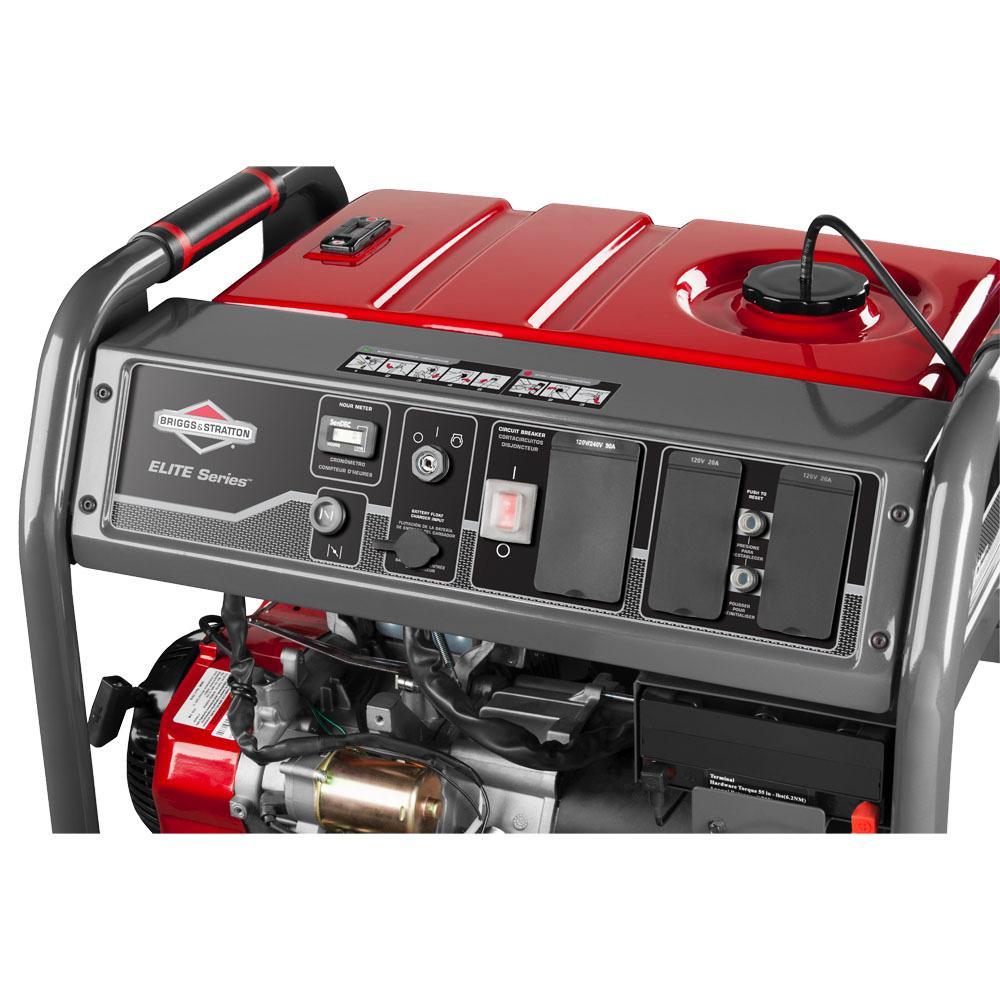 briggs stratton 30470 7000 watt gas powered. Black Bedroom Furniture Sets. Home Design Ideas