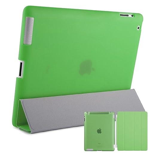 6 opinioni per doupi® Smart similpelle Cover ( Verde ) per Apple iPad 2 3 4 con funzione on /