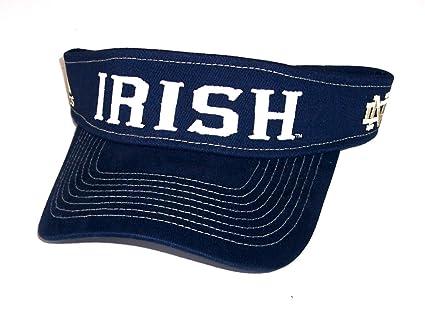 Amazon.com   adidas Notre Dame Fighting Irish Visor   Sports Fan ... 712f31048fe5