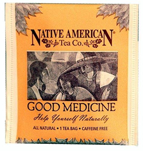 Good Medicine Native American Herbal Tea (100 Tea Bag Box), Spearmint Flavor by Native American Herbal Tea