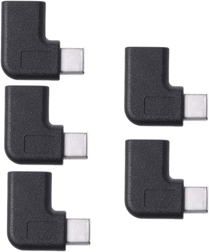 90 Degree Right Angle USB 3.1 Type C Male to Female USB-C Converter Adapter hudiemm0B USB 3.1 Type C Male to Female Converter