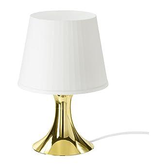 Goldfarbenem Ikea StimmungslichtWeißMit Fuß – Limitierte Lampan wPkX8NnO0