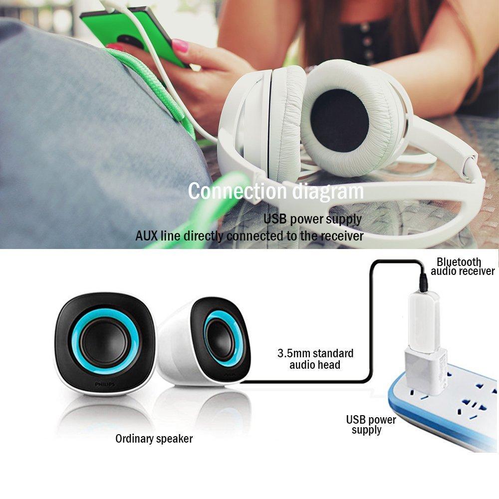 Bluetooth Adapter Receiver Car Kit Mini Usb Wireless To Audio Jack Wiring Electronics