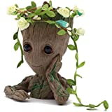 SoB Baby Groot Flowerpot, first edition pen holder or flower pot for home or office, perfect gift for any occasion…