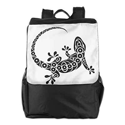 Gekko Personalised Lightweight Travel Hiking Backpack Daypack Gift