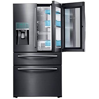 Captivating Samsung Appliance RF28JBEDBSG 36u0026quot; Energy Star Rated Food Showcase French  Door Refrigerator In Black Stainless