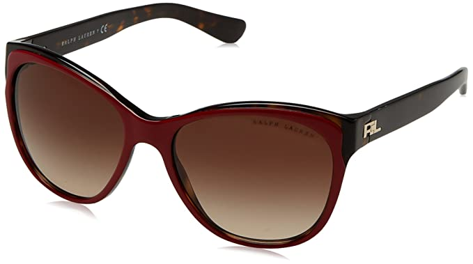 Ralph Lauren 0Rl8156, Gafas de sol para Mujer, Top Red/Dark ...
