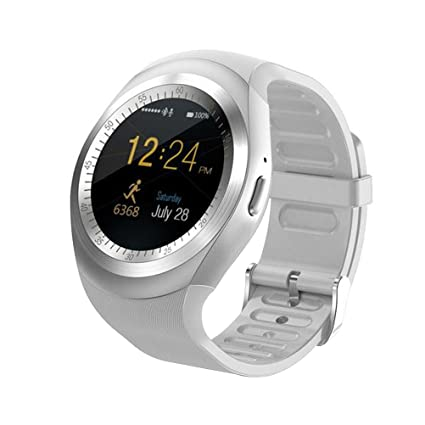 Amazon.com: UKCOCO Y1 Bluetooth Smart Watches, Touch Screen ...