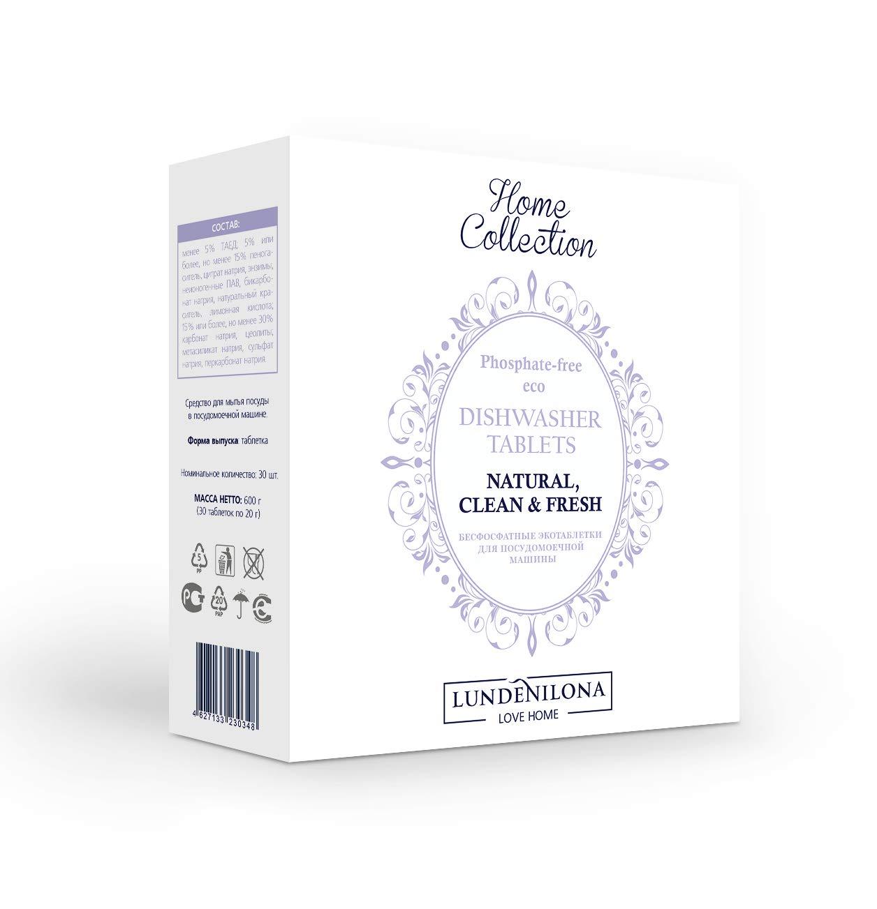 LUNDENILONA pastillas de lavavajillas ecológicas libres de ...