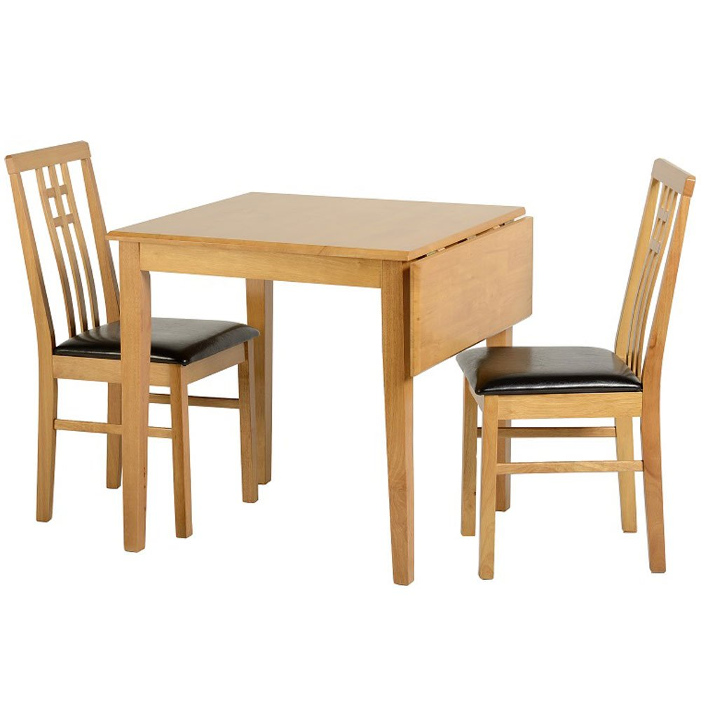 Seconique Vienna 2 Seater Dropleaf Dining Set FREE DELIVERY: Amazon ...